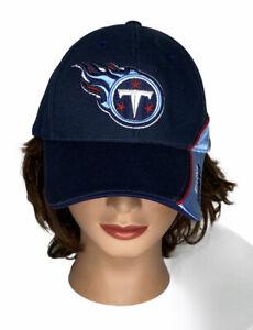 Tennessee Titans NFL Adjustable Strapback Hat Dad Cap Blue Football NWOT