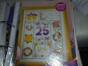 Cross Stitch Kit - 25th Anniversary   (47)