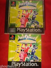 POWER RANGERS LA FORCE DU TEMPS PLAYSTATION 1 POWER RANGER PS1 PS2 PS3