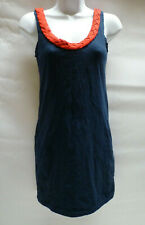 Motel Saytlin Dress Navy Blue Red Motel Rocks Bnwt New S – UK 10