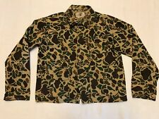 Vintage Black Sheep Camouflage Hunting Long Sleeve Button Front Shirt Size L