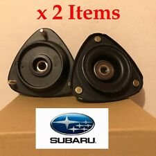 2 x FRONT MAGNUM TECHNOLOGY SHOCK ABSORBER TOP MOUNT CUSHION SET A77000MT SUBARU