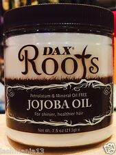 DAX ROOTS JOJOBA OIL  FOR SHINER, HEALTHIER HAIR 213G/ 7.5 OZ.
