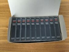 Maxwell Professional Audio Pro DAT 125 box of 10 tapes NEW (open box)