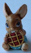 Vintage Figurine Pendelfin Rabbit Picnic Midge