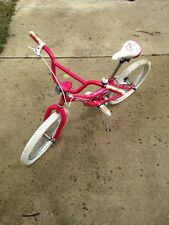 Pink Raleigh Bicycle