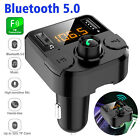 Wireless In-Car Wireless FM Transmitter MP3 Radio Adapter Car Fast 2USB Charger