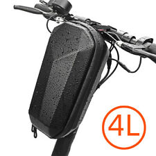 For Xiaomi M365 Large Storage Bag Electric Scooter Front Tube Carry Bag Black