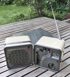 BRIONVEGA Radio TS 505a, weiss, gebraucht, Design Klassiker
