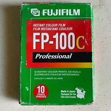Fujifilm FP-100C EXP 2007 Professional Instant Colour Film 10 exposures