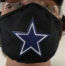 Dallas Cowboys Football Face Mask Washable Adult One Size Fits Most