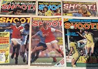 Joblot 10 x RARE Vintage Shoot Football Magazines From Late 1970's & Early 80's