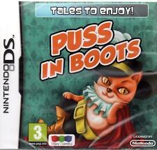 Nintendo Ds Gioco Der Gestifelte Kater - Puss in Boots per Dsi Nds XL Lite Nuovo