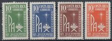 Costa Rica 1971 ** Mi.Z53/56 Religion Christentum Christianity Pax  [sq5379]