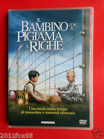 dvd,il bambino con il pigiama a righe,the boy in the striped pyjamas mark herman