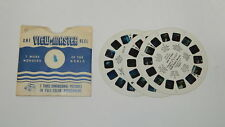 ViewMaster Reel Complete Nasa Project Mercury Man In Space R12052