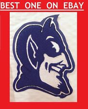 DUKE University College Blue Devils Sew On Patch NCAA Mascot Team 6x4 Basketball