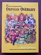 Intellivision Psycho Stormtrooper's Orphan Overlay Set Series II # 133 CIB RARE!