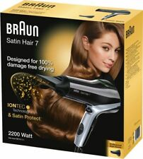 Braun Personal Care HD 710 solo Satin Hair 7 Schwarz Föhn Fön Haartrockner