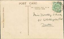 Dorothy Schute. 41 Wellington Road, Dublin. 1906.   RJ.893