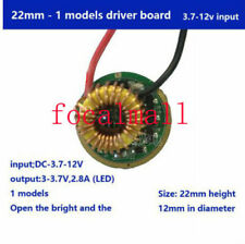 2.8A 1 Mode 3.7V-12V Cree T6 L2 U3 XPL V3 V6 LED Flashlight Driver Board Torch