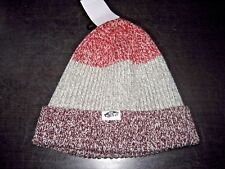 Vans Shoes Twilly Unisex Winter Beanie Striped Red Grey Purple NWT Ships Free