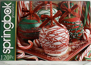 Springbok 120 Piece APPLE-ICIOUS! Puzzle Factory Sealed Made in USA
