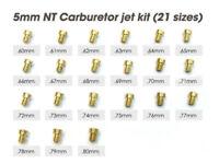 5mm NT Carburetor Jet Kit 80CC Gas Motorized Bicycle