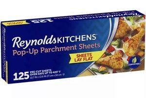 Reynolds Kitchens Pop-Up Parchment Paper Sheets (125 ct.)-Hot Sale