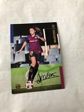 Spelerskaart Topspieler Handsigniert Lieke Martens FC Barcelona