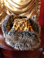 Authentic Rare SUPREME Unisex Faux Fur Leopard Trooper Hat.. Free Shipping