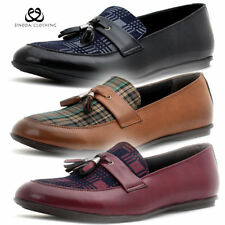 Loafers Round 100% Leather Upper Shoes for Men
