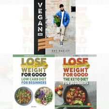 Vegan 100 Gaz Oakley 100 Incredible Recipes 3 Books Collection Set NEW