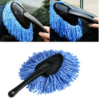 Auto Car Microfiber Wash Cleaning Brush Duster Dust Wax Mop Dusting Tool 11 inch