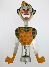 1950 Gemelli American Pat Clown Corkscrew Bottle Opener Retro Mid Century CN02