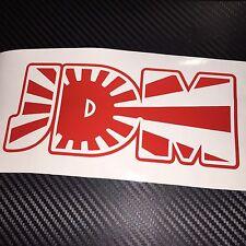 RED JDM Car Sticker Decal Drift Jap Import Rising Sun
