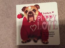 Valentine's Day, Zelda puppy love book, bulldog, new