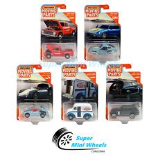 Matchbox 2020 Moving Parts G Case 5 Cars Set