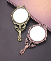 2 Color Beauty And The Beast Makeup Mirror Hand-held Makeup Tool Cute Gifts
