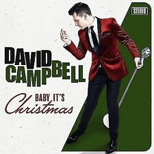 David Campbell Baby It's Christmas BRAND NEW CD