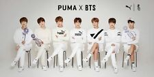 BANGTAN BOYS PUMA X BTS COURT STAR Shoes 240 + PHOTOCARD NEW