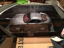 1/18 Hotwheels ELITE Ferrari Grigio 575 Zagato Silver Limited Edition diescast