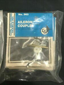 CARL GOLDBERG 6 Kits Bags of 363 AILERON COUPLER NEW IN BAG NIB