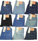 Levis 505 Mens Jeans Regular Fit Straight Leg MANY SIZES & COLORS New With Tags