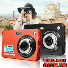 "HD Megapixel 8X Zoom 2.7"" TFT LCD Screen Digital Camera Camcorder Record Gift UK"