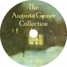Augusta Groner Audiobook Collection in English on 1 MP3 DVD Free Shipping
