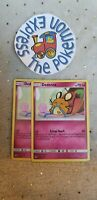 Pokémon TCG 2x	Dedenne	#142/214	 Lost Thunder Mint English Fairy Type Uncommon