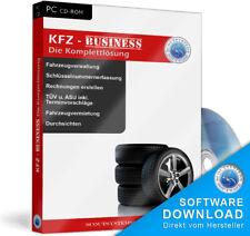 Kfz Business Verwaltung,Aufträge,Fahrzeuge,Rechnungen,Auto-Werkstatt Software