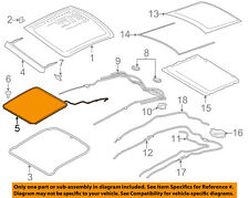 Lincoln FORD OEM 13-18 MKZ Sunroof-Shield DP5Z54500A66A