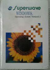 Superwave Windows 3.1 Operating system PROGRAM Unused MICROSOFT - SEALED BOX
